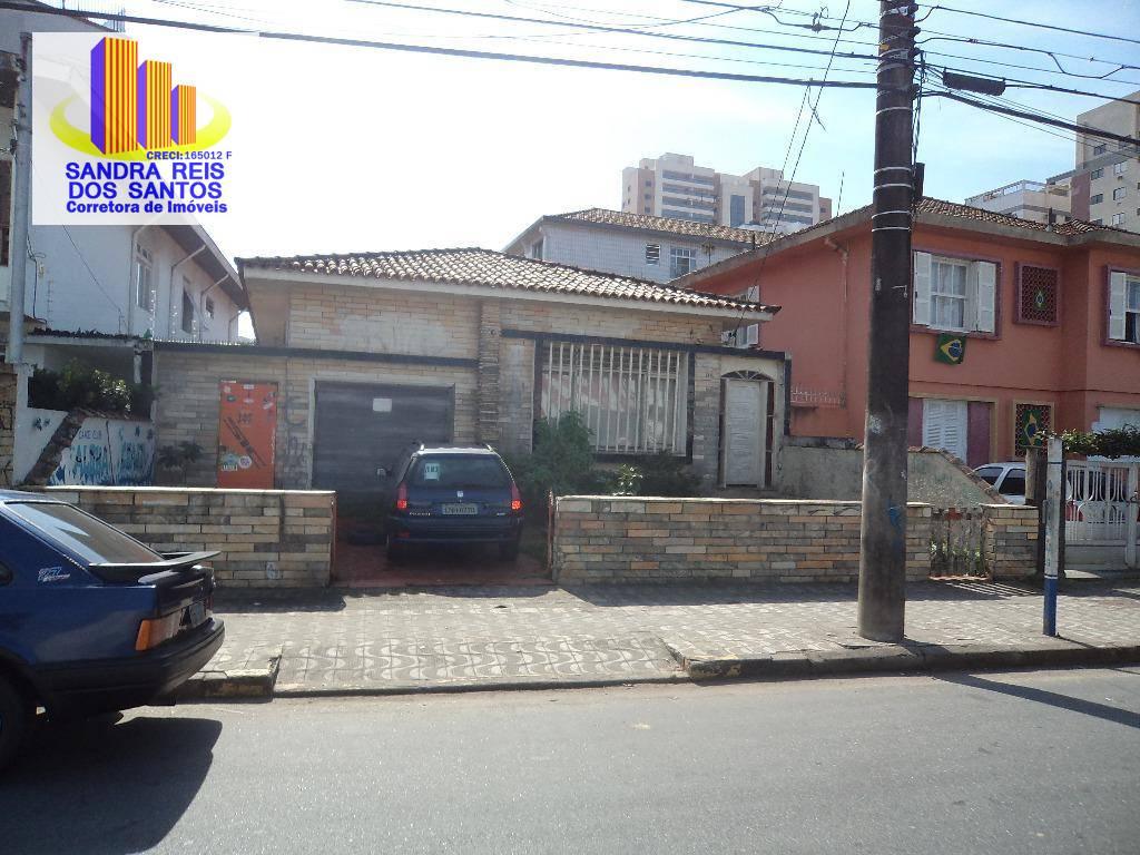 Salão comercial para locação, Ponta da Praia, Santos.