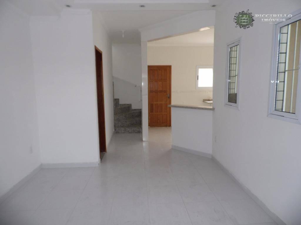 Sobrado 2 dormitórios, 2 suítes, Guilhermina - Praia Grande
