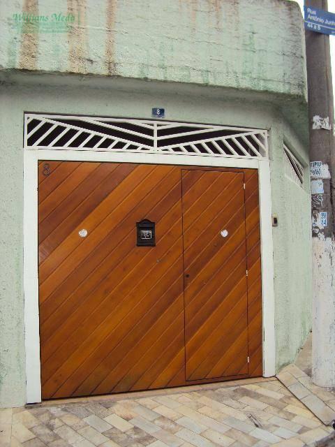 Sobrado residencial para venda e locação, Jardim São Jorge, Guarulhos - SO0253.