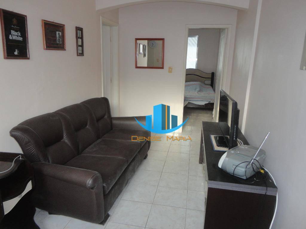 Apartamento Frente Mar Gonzaga 1 Dormitório Oportunidade -Sa