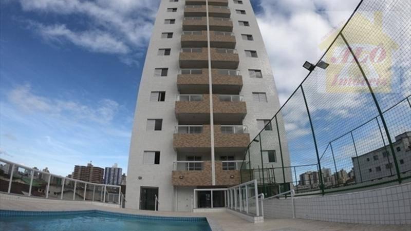 Apartamento à venda, 71 m² por R$ 370.000,00 - Tupi - Praia Grande/SP