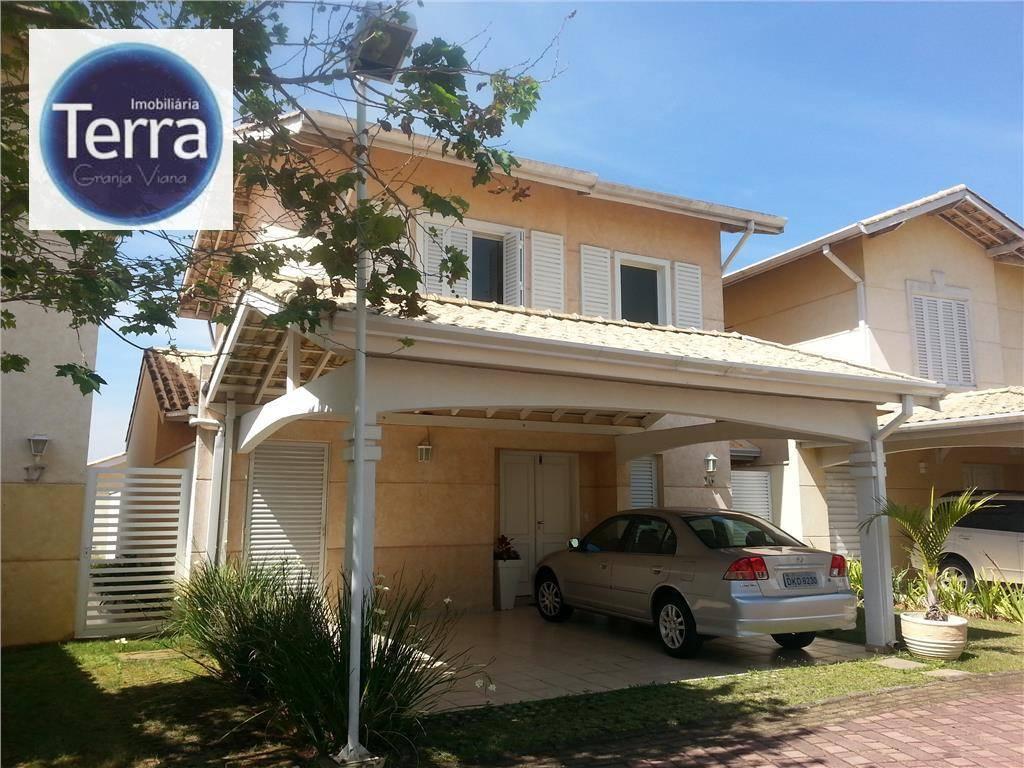 Casa residencial à venda, Reserva Granja Viana, Granja viana.
