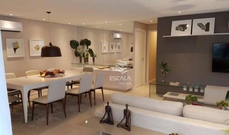 Apartamento com 3 quartos à venda, 165 m², gabinete, 3 vagas, área de lazer, financia - Cocó - Fortaleza/CE