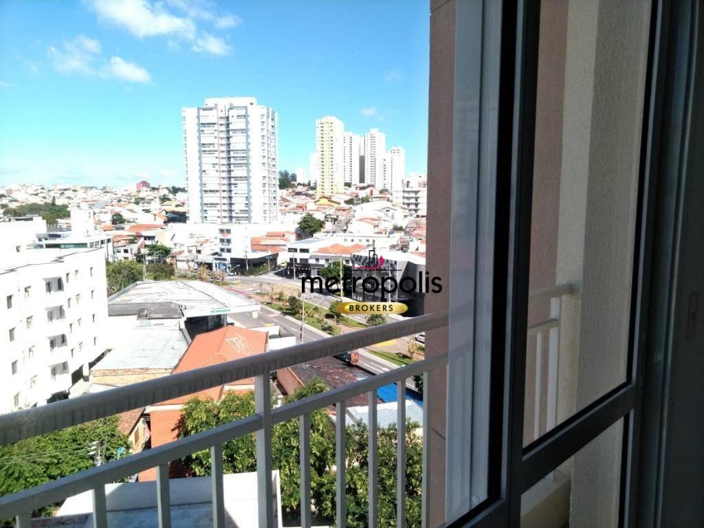 Apartamento com 2 dormitórios à venda, 58 m² por R$ 397.000 - Barcelona - São Caetano do Sul/SP