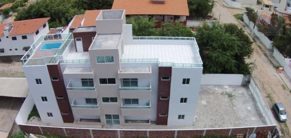 Apartamento residencial à venda, Poço, Cabedelo - AP0441.