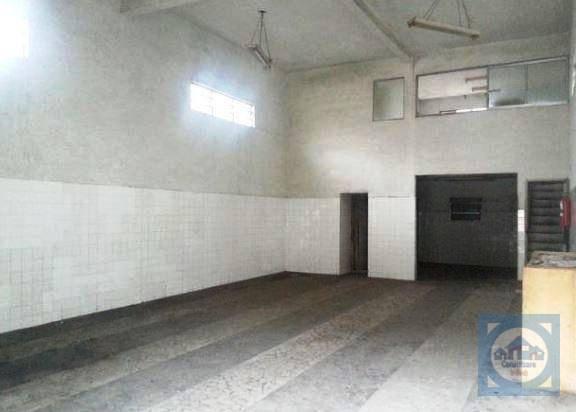Galpão à venda, 250 m² por R$ 620.000 - Chico de Paula - Santos/SP