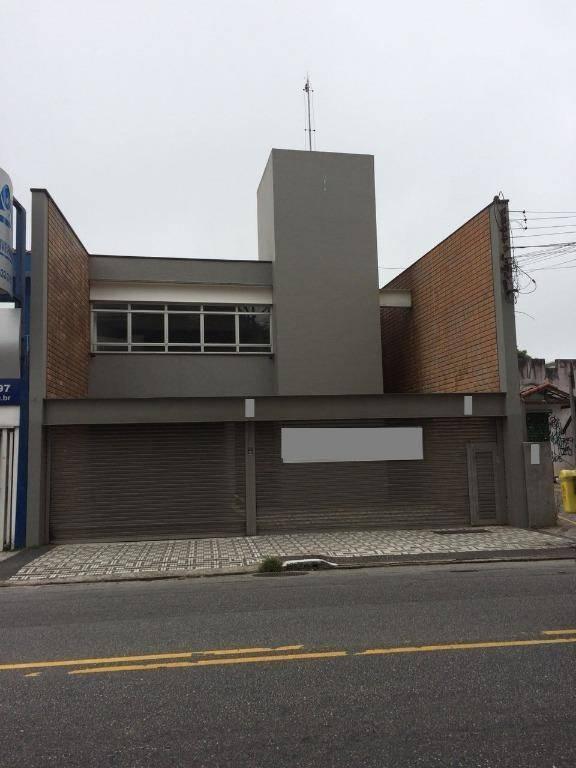 Galpão à venda, 800 m² por R$ 2.500.000 - Jardim Bela Vista - Santo André/SP