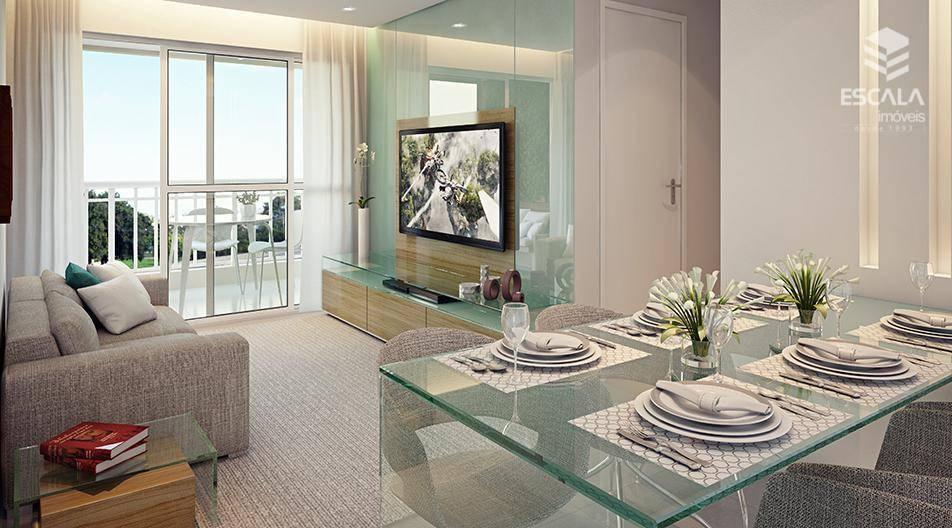 Apartamento com 3 quartos à venda, 73 m², 2 vagas, área de lazer, financia - Presidente Kennedy - Fortaleza/CE