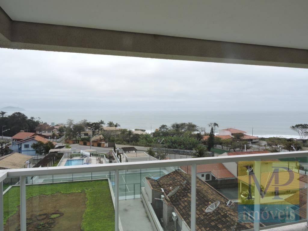Apartamento com 4 dormitórios à venda, 121 m² por R$ 1.055.875,13 - Praia de Armação - Penha/SC