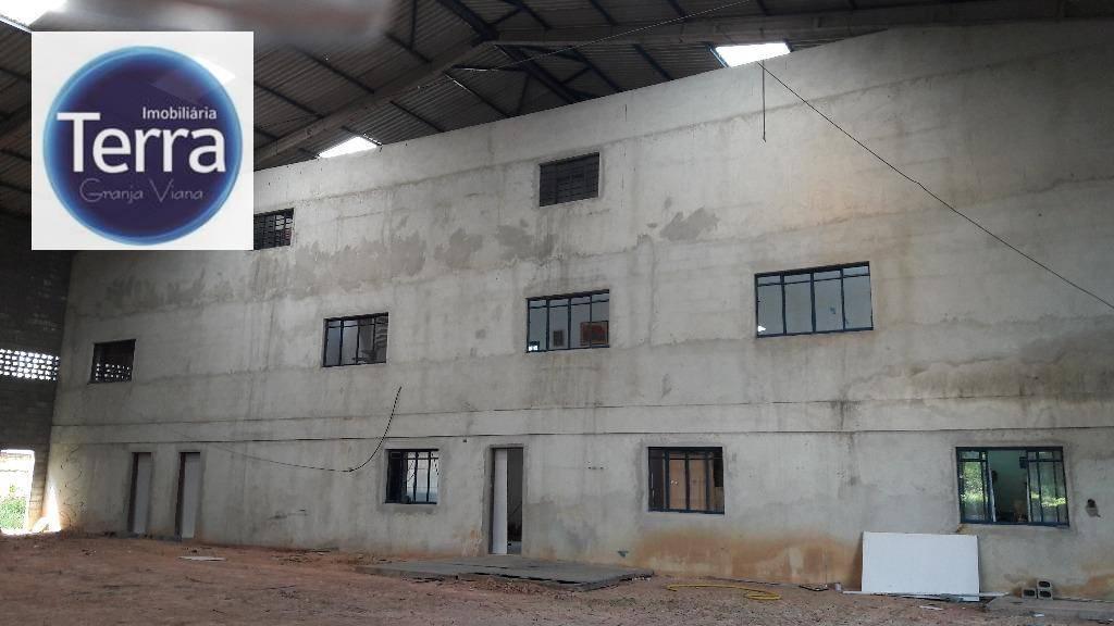 Galpão  industrial para venda e locação, Vila Jovina, Cotia.