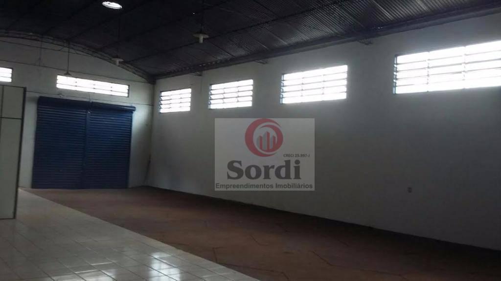 Galpão à venda, 340 m² por R$ 1.010.000,00 - Campos Elíseos - Ribeirão Preto/SP