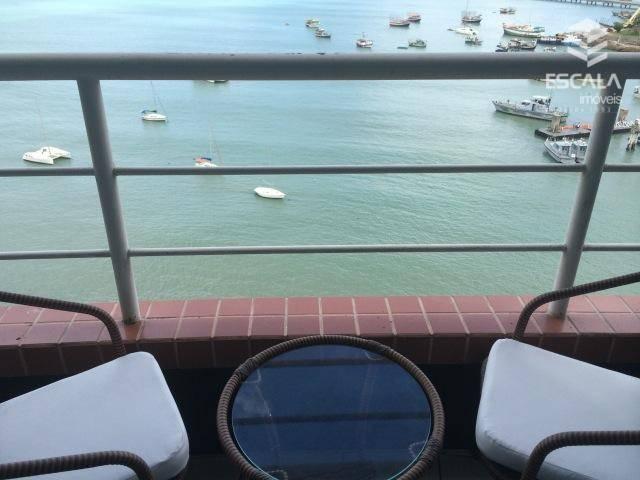 Flat com vista mar à venda, 46 m², totalmente mobiliado - Mucuripe  - Fortaleza/CE
