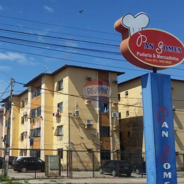 Apartamento com 2 dormitórios à venda, 48 m² por R$ 98.000,00 - Jardim Atlântico - Olinda/PE