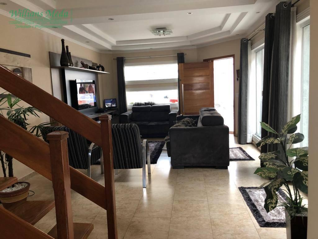 Sobrado com 3 suítes à venda, 189 m² por R$ 750.000 - Jardim Santa Clara - Guarulhos/SP