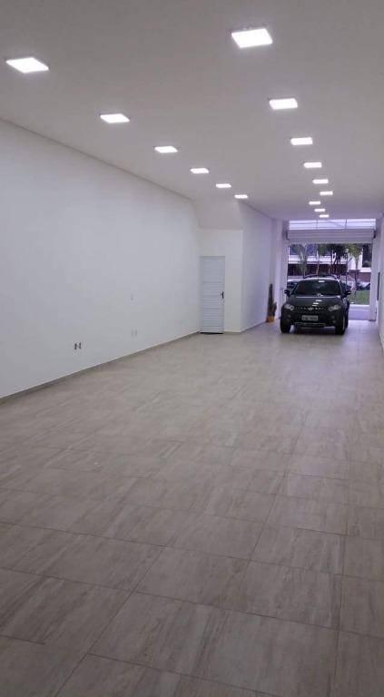 Galpão para alugar. T: 165 m² e salão: 120 m² por R$ 4.300/mês - Vila Vilma - Santo André/SP