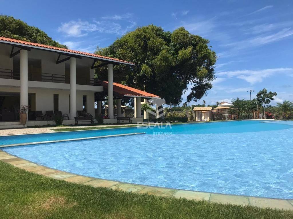 Lote à venda, 280 m², Vila do Porto, condomínio fechado, financia - Lagoa do Banana - Caucaia/CE