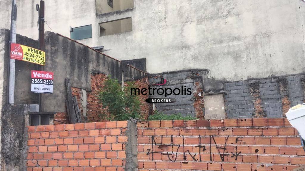 Terreno residencial à venda, Nova Gerti, São Caetano do Sul - TE0084.
