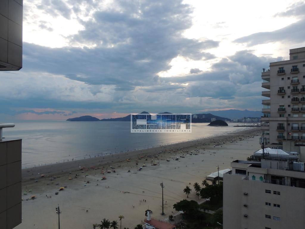 FLAT a BEIRA MAR na melhor localização de Santos