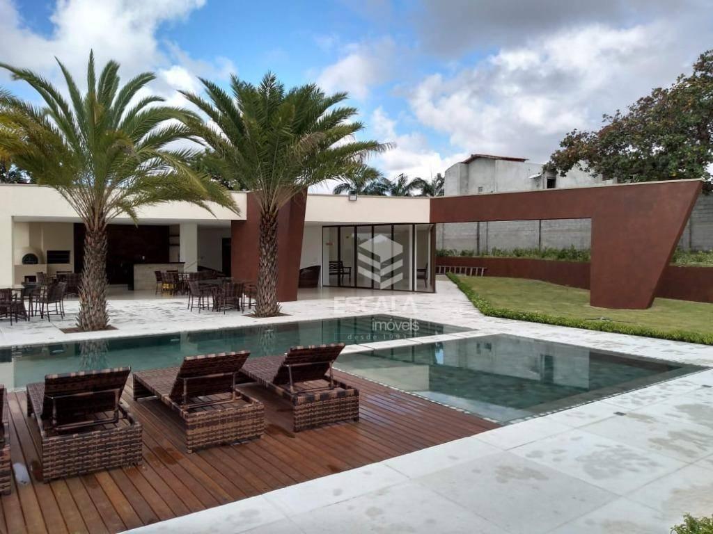 Lote à venda no Condomínio Vilas do Lago, 306 m², financia - Lagoa Redonda - Fortaleza/CE