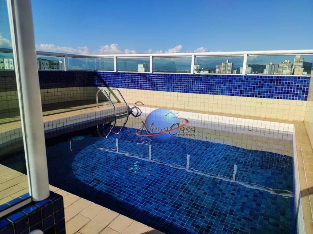Apartamento com 2 dormitórios à venda, 79 m² por R$ 270.000,00 - Vila Guilhermina - Praia Grande/SP