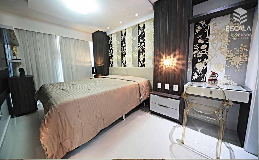 Apartamento com 3 quartos à venda, 119 m², novo, 2 vagas área de lazer - Papicu - Fortaleza/CE