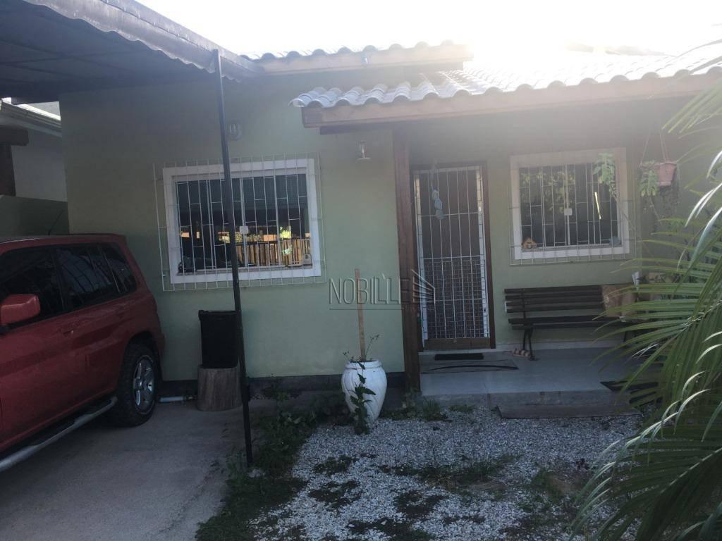 Casa com 3 dormitórios à venda, 60 m²- São João do Rio Vermelho - Florianópolis/SC