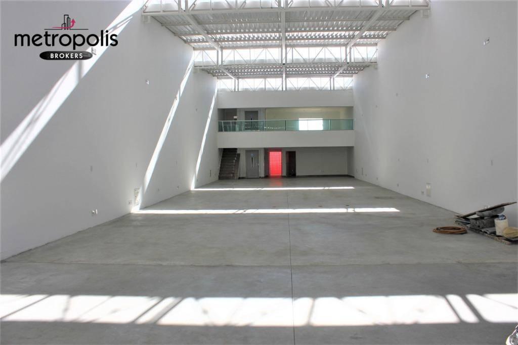 Galpão para alugar, 500 m² por R$ 15.000,00/mês - Santa Paula - São Caetano do Sul/SP