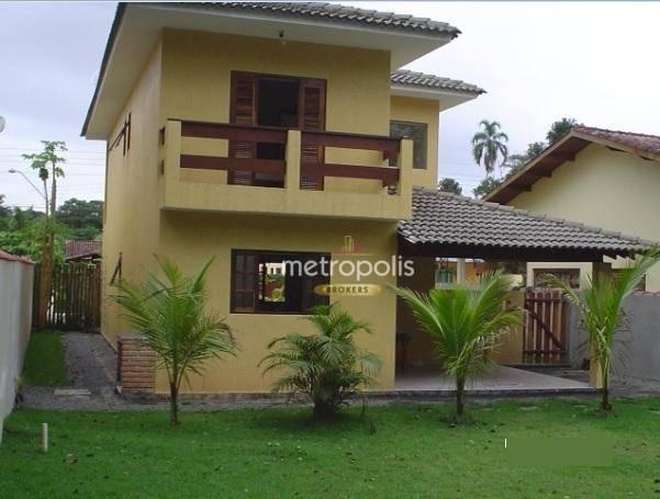Sobrado à venda, 220 m² por R$ 750.000,00 - Boracéia - São Sebastião/SP
