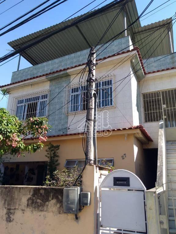 Casa com 3 dormitórios à venda, 250 m² por R$ 420.000,00 - Barro Vermelho - São Gonçalo/RJ