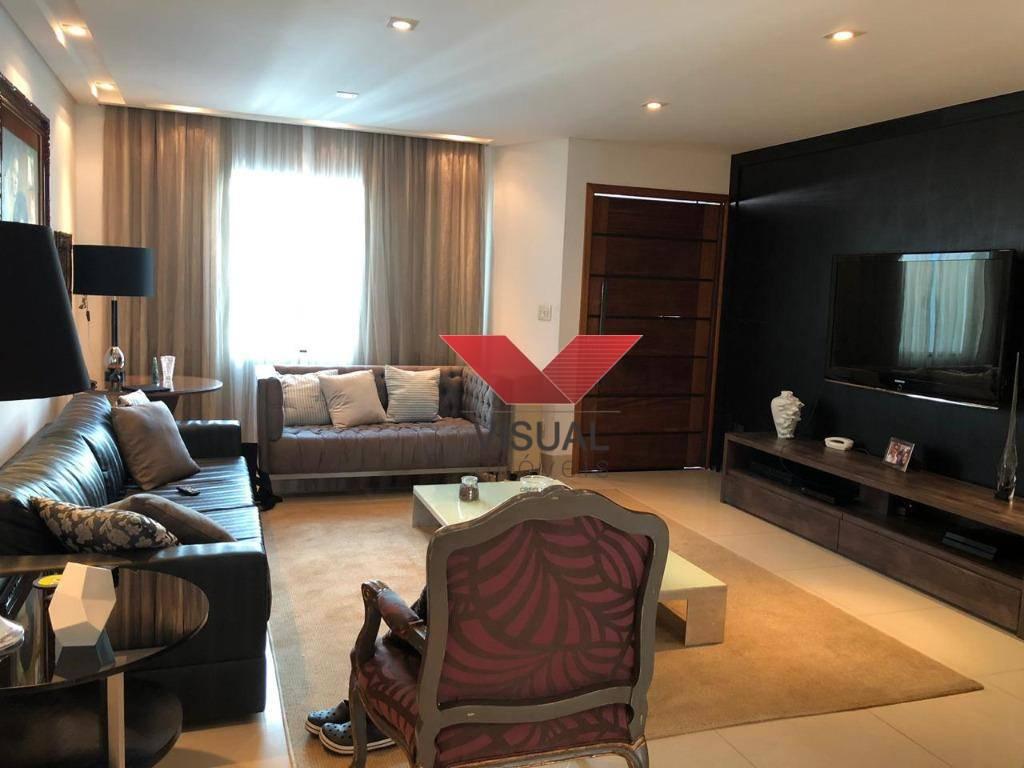 Sobrado com 3 dormitórios à venda, 251 m² por R$ 1.060.000,00 - Jardim do Mar - São Bernardo do Campo/SP