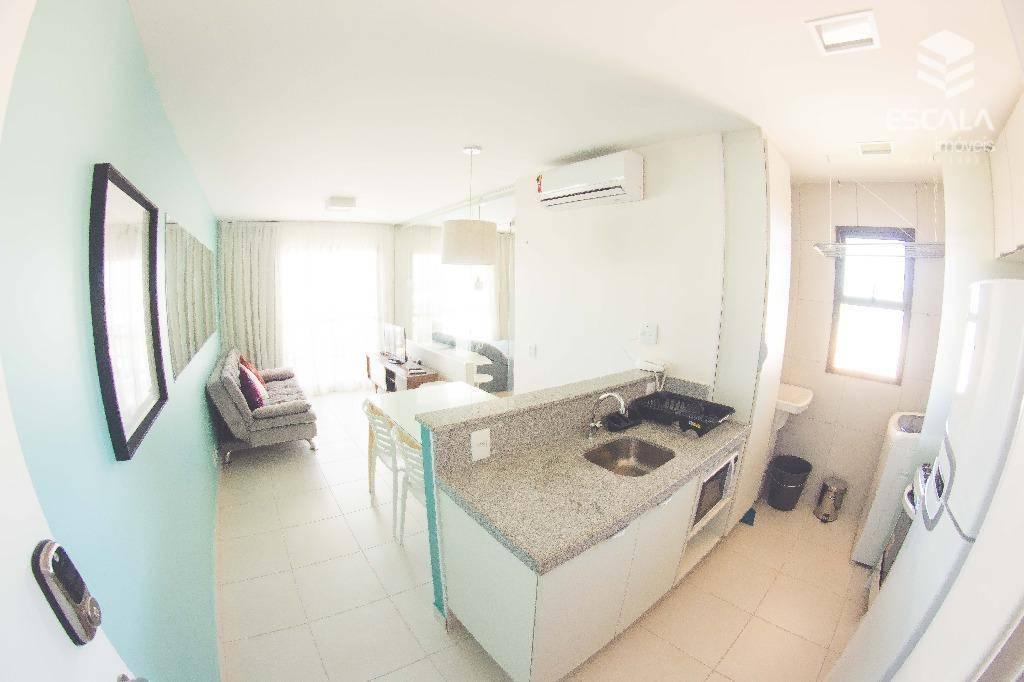 Apartamento com vista mar à venda no VG Sun Cumbuco, todo mobiliado, alto padrão - Cumbuco - Caucaia/CE