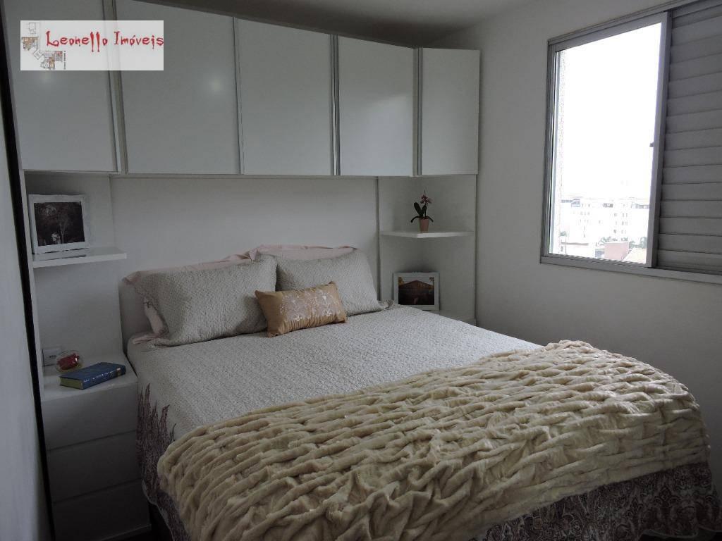 Apartamento com 2 dormitórios à venda, 45 m² - Parque São Vicente - Mauá/SP