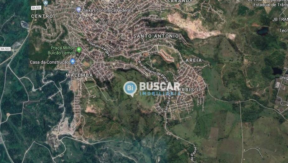 Área à venda, 176000 m² por R$ 10.000.000,00 - Malemba - Candeias/BA