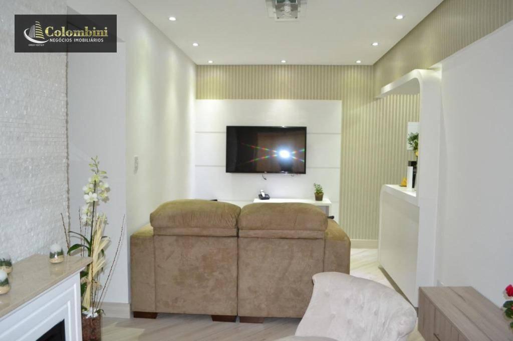 Apartamento com 3 dormitórios à venda, 70 m²  - Vila Dusi - São Bernardo do Campo/SP