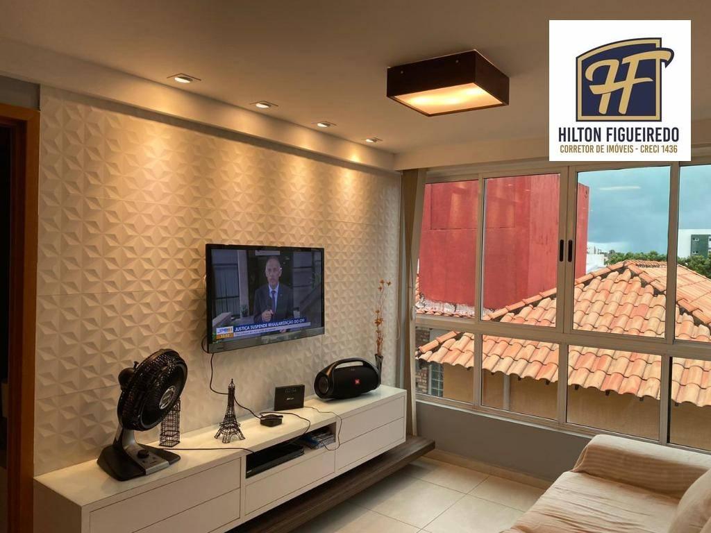Flat com 1 dormitório à venda, 40 m² por R$ 225.000 - Intermares - Cabedelo/PB