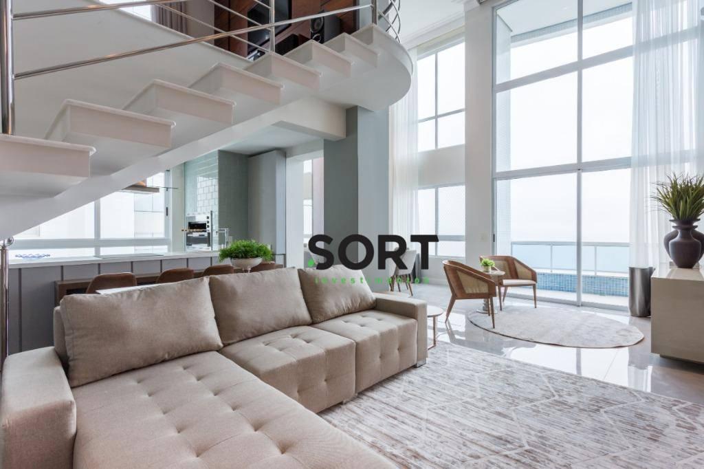 Apartamento à Venda, Frente Mar, Edifício Porto Vita em Balneário Camboriú
