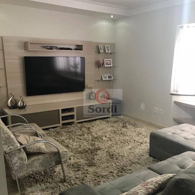 Casa à venda, 154 m² por R$ 570.000,00 - Residencial e Comercial Palmares - Ribeirão Preto/SP