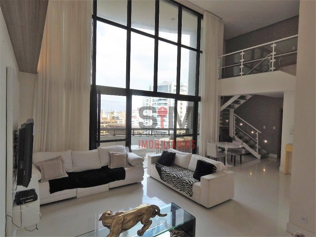 Lindíssimo apartamento Duplex de 03 suítes, alto, com armários e infraestrutura à venda, Aquárius, Salvador.