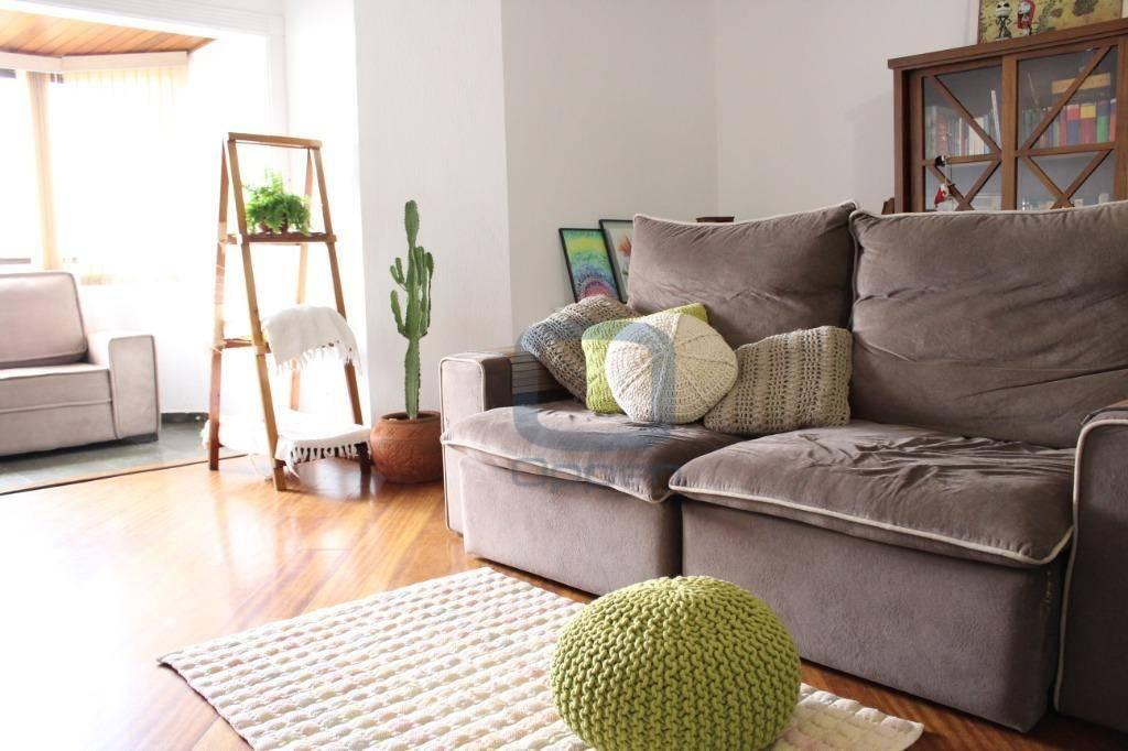 Apartamento com 3 dormitórios à venda, 150 m² por R$ 580.000 - Jardim Chapadão - Campinas/SP