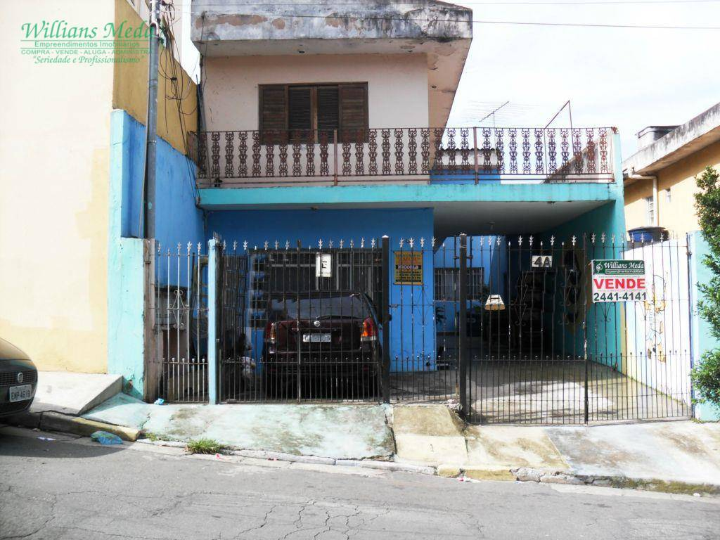 Sobrado residencial à venda, Vila Santa Maria, Guarulhos - SO0538.