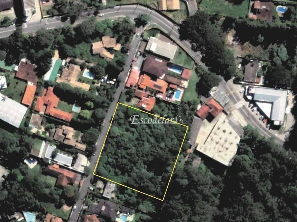 Terreno à venda, 4900 m² por R$ 1.590.000,00 - Chácara dos Lagos - Carapicuíba/SP