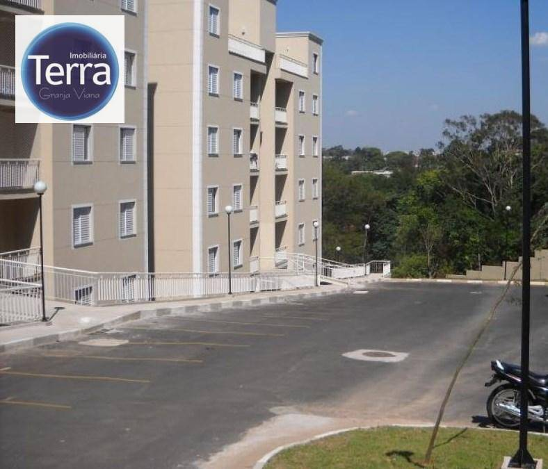 Apartamento residencial à venda, Resort da Granja, Granja Viana.