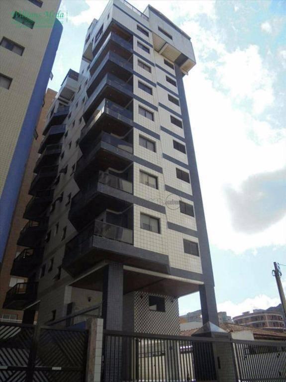 Apartamento com 2 dormitórios à venda, 62 m² por R$ 300.000 - Centro - Mongaguá/SP