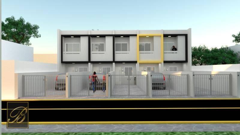 Sobrado com 2 dormitórios à venda, 64 m² por R$  - Vila Nova - Joinville/SC