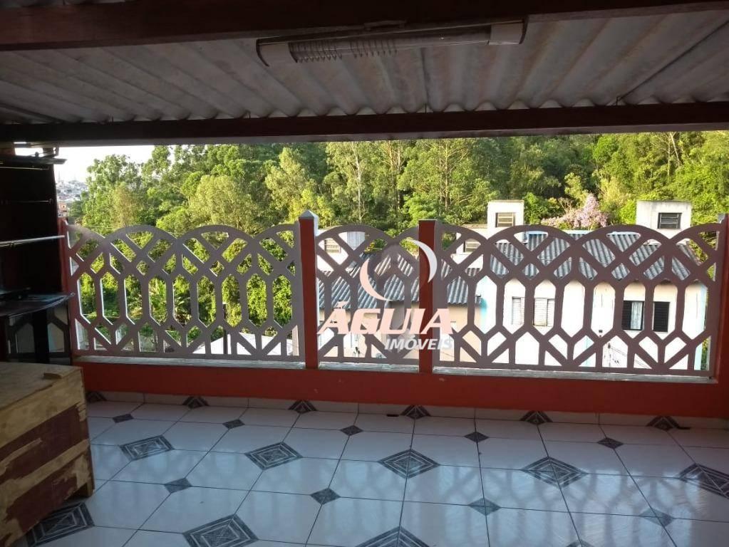 Casa com 2 dormitórios à venda, 168 m² por R$ 299.000,00 - Jardim Miranda D Aviz - Mauá/SP