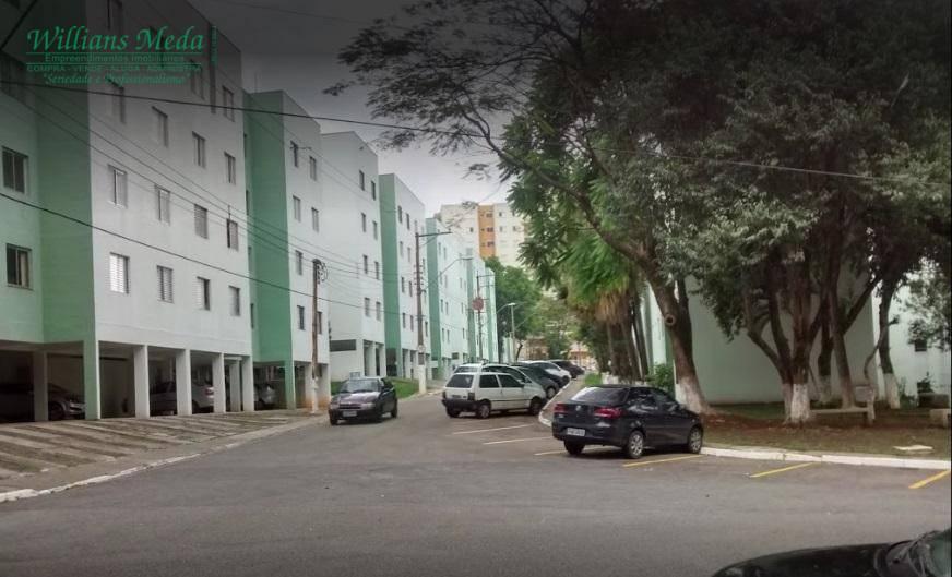 Apartamento residencial à venda, Vila Nossa Senhora de Fátima, Guarulhos.