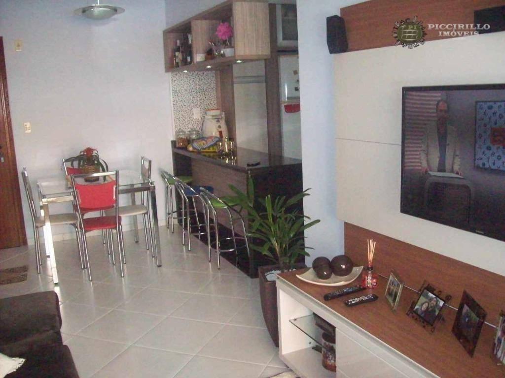 Apartamento à venda, 94 m² por R$ 388.000,00 - Canto do Forte - Praia Grande/SP