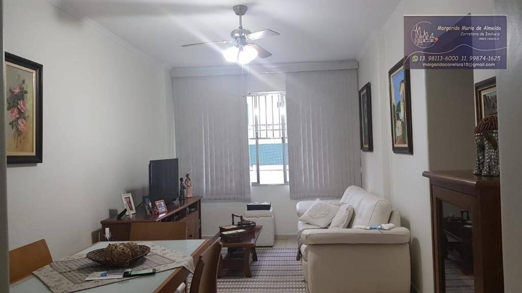 Apartamento 2 dormitórios à venda,  R$ 250.000 - praia Itararé - São Vicente/SP