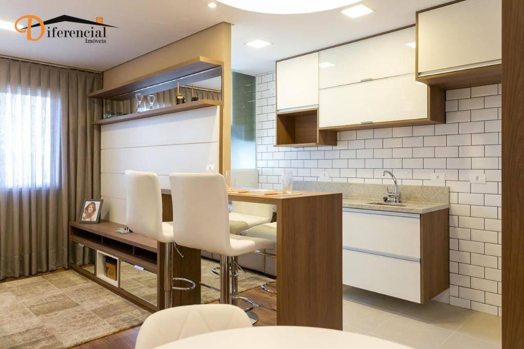Apartamento à venda, 60 m² por R$ 430.000,00 - Portão - Curitiba/PR