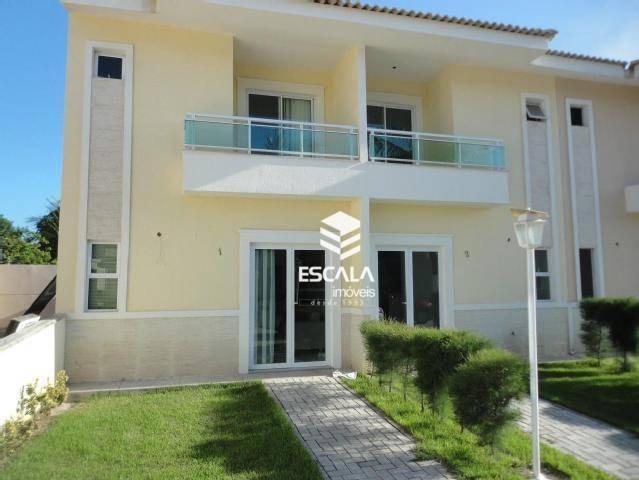 Casa duplex com 3 quartos à venda, 76 m², área de lazer, 2 vagas - Messejana - Fortaleza/CE